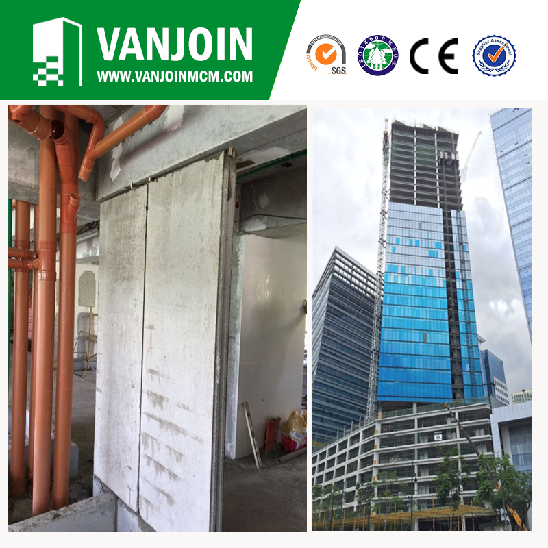 Fast Built Recyclable Exterior Wall Siding Panel for Prefabricated House