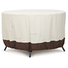 water resistant breathable eco-friendly furniture round dining table cover