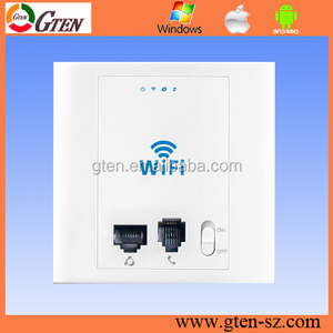 Indoor Embedded WIFI bridge 300Mbps 48V POE mini wireless n ap router with long range