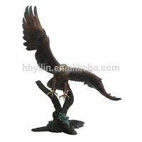 Eagle Sculpture bronze animal statue for garden