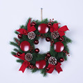 wholesale christmas wreath decorations with candle holder