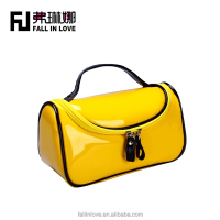2014 New style candy color adorable women cosmetic bag ladies beauty bag cosmetic case