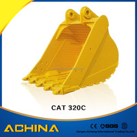 PC200 PC220 digging excavator clamshell bucket CAT320C CAT320D