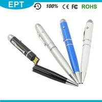 USB 3.0 U Disk Laser Pinter Ball Pen Shaped USB Flash Drive Wholesale