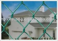 Chain Link Mesh Fencing PVC Coating