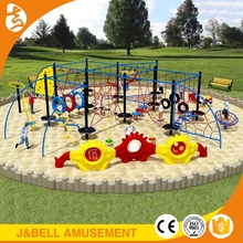 Children fitness climbing net playground, outdoor playground equipment