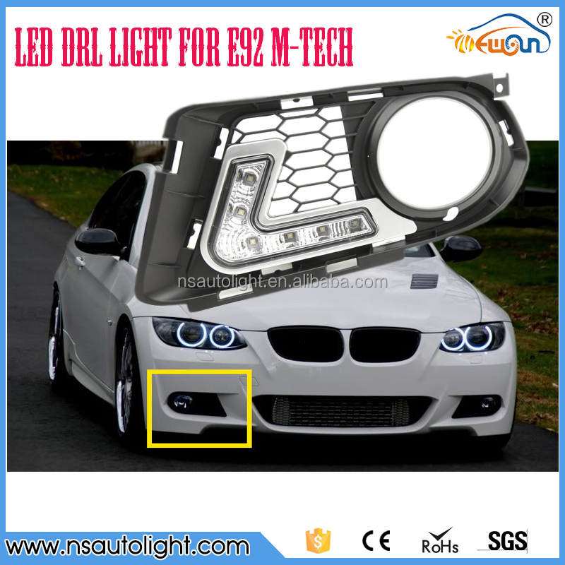 Led DRL for BMW E92 M-TECH led daytime running light car accessories