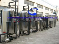 Complete Mineral Water treatment plant