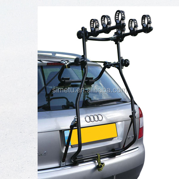 Steel Rear Mounted Bike Rack 3 Bike Carrier