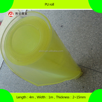 clear impact and shock resistant polyurethane PU sheet