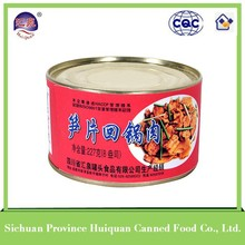 Gold supplier china chinese food premium ham luncheon meat canned bamboo shoots with pork