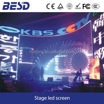 Media commercial advertising P7.62 indoor led display screen/ led billboard