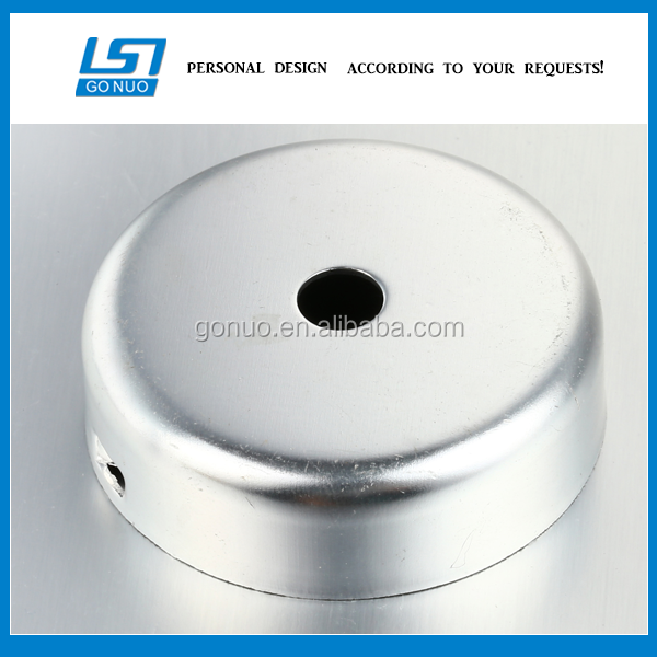 hardware manufacture OEM metal sheet steel stamping bracket round plate fabrication