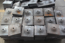 Thickness 8mm steel washers,anchor bolt plate,domed plate
