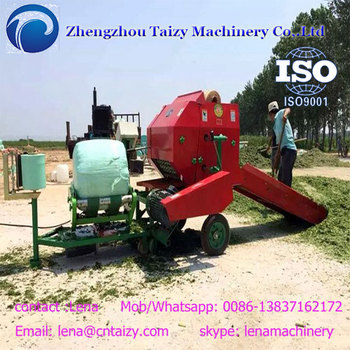 Semi-automatic silage wrapping machine Silage Baling Machine