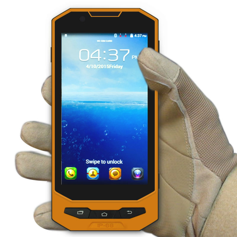 shockproof waterproof smartphone with 5 inch Enjoy W101 Quad core waterproof rugged phone