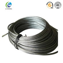 6*19 galvanized steel 12mm wire rope