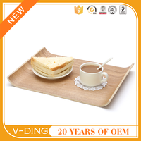 v-ding new products wooden pallets for sale chinese dinner platebent wood serving tray