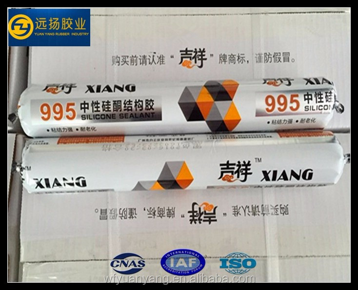 Fast Curing Structure Silicone Rubber Adhesive Sealant