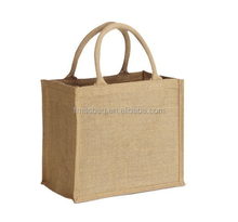 Natural 100% jute bag for shopping/jute bag/used jute bag