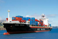 100% cheap sea cargo freight rate/ocean shipping cost for20GP/40HQ from China to Poznan