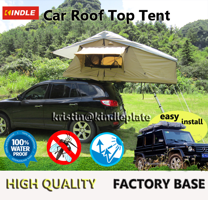 Large Waterproof Camping Roof Tent