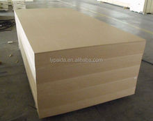Man-made panel MDF made from composite wood / fibreboard