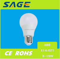 A60 3w 5w 7w 9w LED LIGHT BULB NEW LED HOUSE BULB