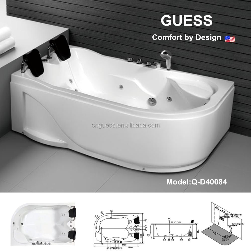 Bathtub bathroom accessories acrylic tub portable bathtub for Best acrylic bathtub to buy