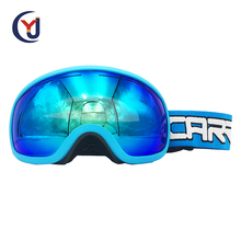 wholesale stylish custom elastic strap anti-glare best ski googles