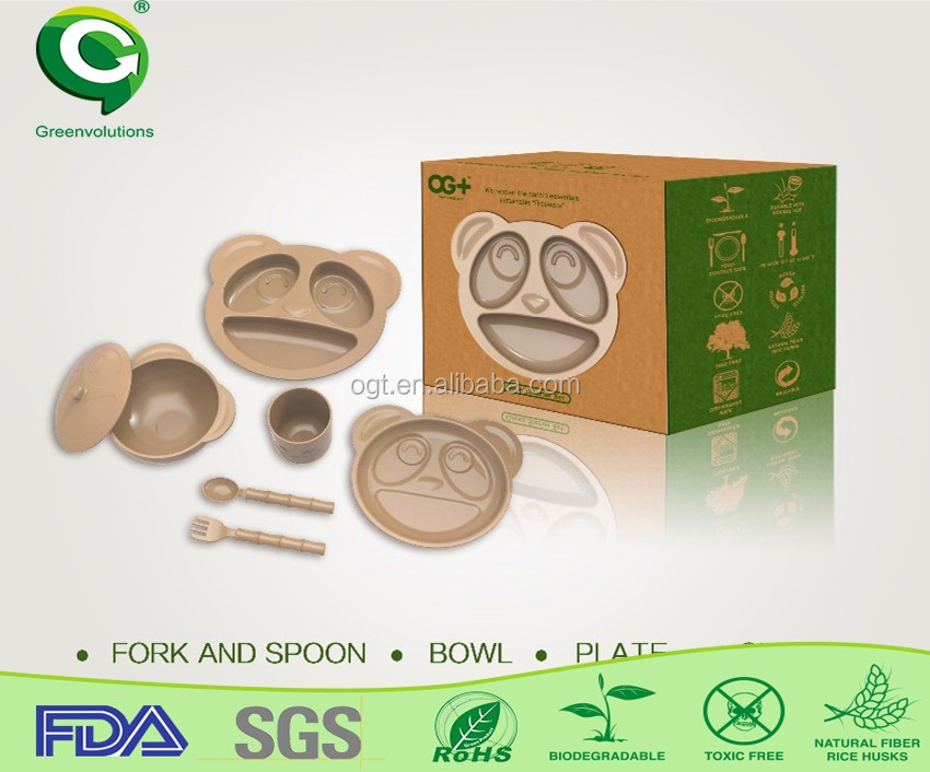 eco green disposable kitchen crockery