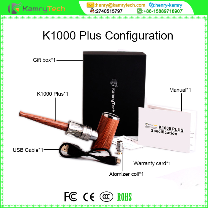 2016 new 30w epipe kamry k1000 kit e cigarette ,high quality kamry k1000 plus with k1000 plus atomizer