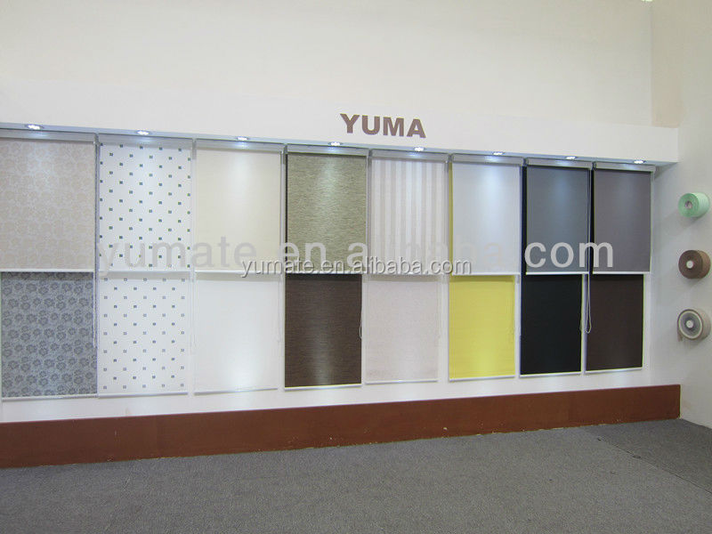 Elegant Woven dim out blackout foam coating roller blinds fabric shade shades fire flame retardant UV resistant fabric