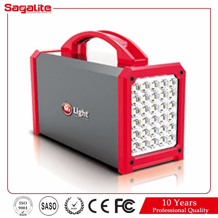 Factory 600lm 20h lead acid battery ac/usb charging 716 cordless akari rechargeable led emergency light