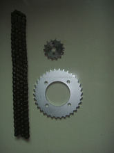 Motorcycle Transmission Brazil Sprocket and Chain kits for Brasil Honda BIZ 125 / C100 BIZ / POP 100