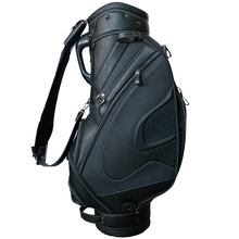 Luxury Customize Genuine Leather Stand Golf Bag