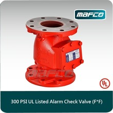 UL listed fire alarm check valve for fire sprinkler system