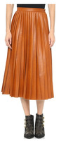 Asla Pleated Skirt wrap skirt fancy skirt top designs moshiki skirt pleated plaid skirt