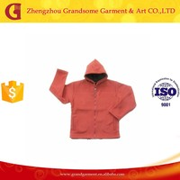 Cheap Custom Polar Fleece Orange Tracksuit