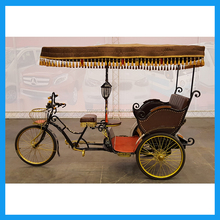 Made in China 3 Wheel Three Passenger Electric Wagon Pedicab Rickshaw