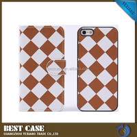 High Quality Magnet Leather Flip Case For iPhone 5 Customized Case Cover