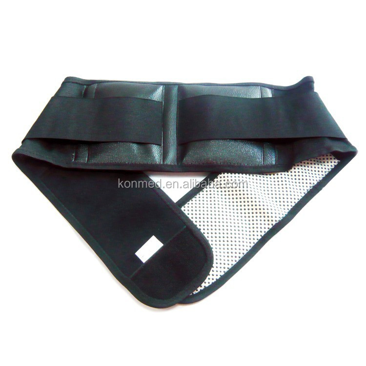 CE&FDA approved Tourmaline Lumbar self heating belt support for pain relief