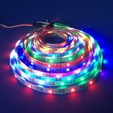 Addressable RGB Full Color Changing WS2812B / ws2811 60leds/meter Pixel Led Strip