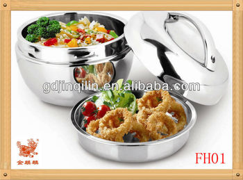 Stainless steel lunch box (FH01)