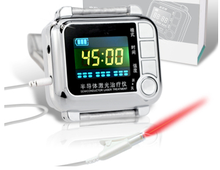Modern technology physiotherapy healing apparatus portable digital cold laser therapy watch
