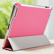 quantity production top quality stand leather case for ipad case with stylus holder