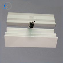 pvc chamfer for building green upvc profile vinyl glazing bead