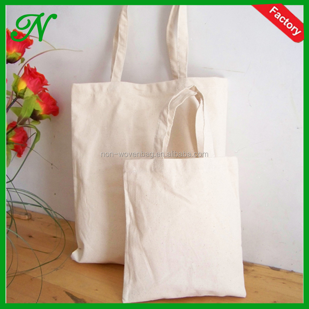 Wholesale promotional plain thin cotton tote, cotton tote bag for shopping