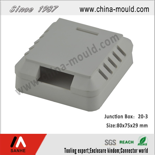 ABS plastic electronic junction box