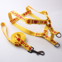 Hot sale custom nylon reflective dog collar with quick release clasp